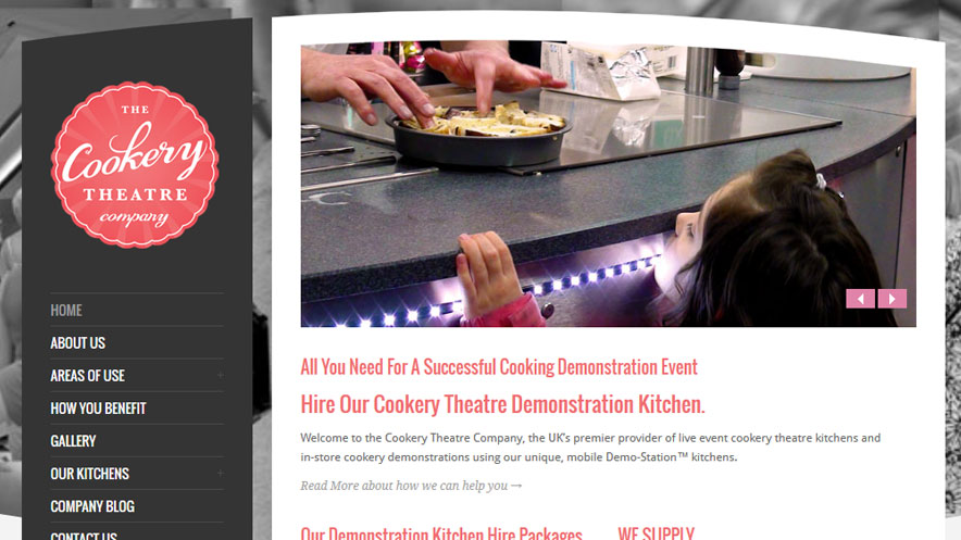New Branding - The Cookery Theatre Company